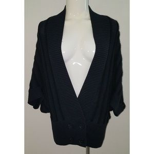 NWT Ann Taylor Knit Black Cardigan Sweater Size XS